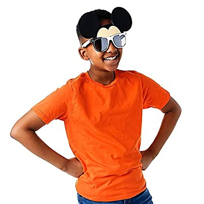 Sun-Staches Officially Licensed Silver Frame Mickey Mouse: Clothing