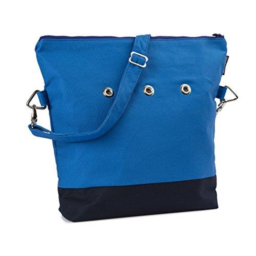 Yarn Pop Totable Knitting Bag - BLU+BLU by Yarn Pop