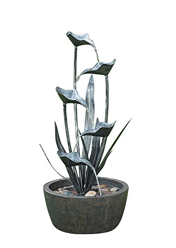 Hi-Line Gift Ltd Metal Blooming Plant - Plants Calla Lilly