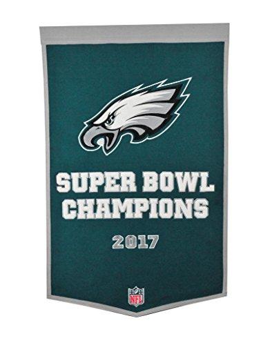 (Winning Streak NFL Philadelphia Eagles Super Bowl 52 Dynasty Banner)