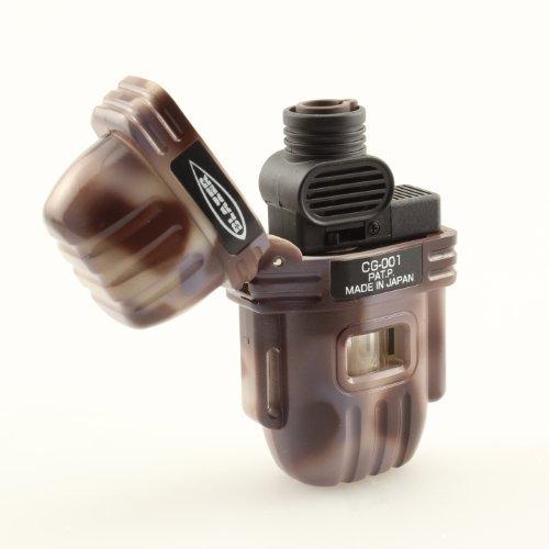 Blazer CG-001 Butane Refillable Cigar Torch Lighter, Desert Camouflage by Blazer