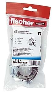 Fischer 49862 - Gelenkrohrschhelle fgrs más de 3/4 de pulgada b sb-samo,