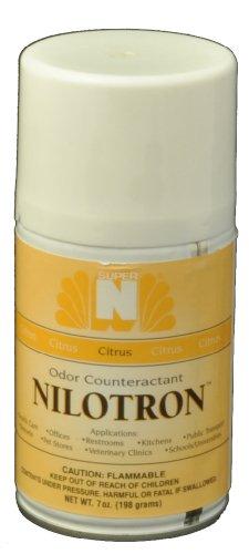 Nilotron Metered Spray Refill, Citrus Scent Smell (Aerosol Refill Nilotron)