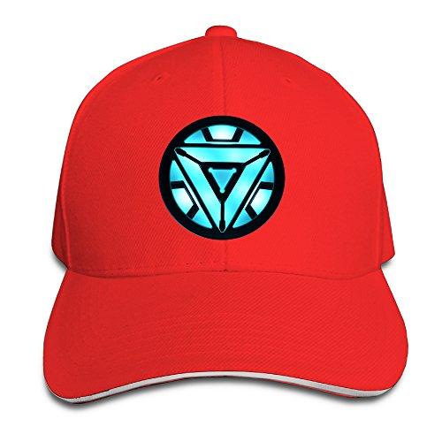 Unisex Tony Stark Light-Up Arc Reactor LED Iron Baseball Cap (Iron Arc Reactor compare prices)