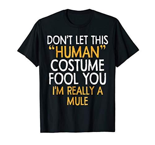 Mule human Costume Tshirt Halloween 2018 Tshirt Gift idea
