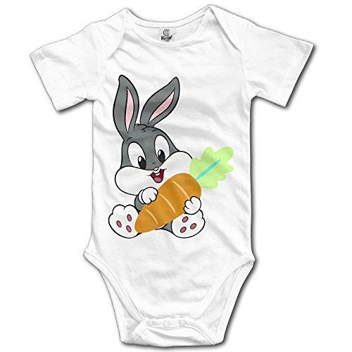 Baby Looney Tunes Baby Girls/Boys Short Sleeve Bodysuit -