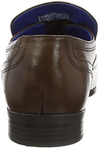Hombre para Mocasines Marrón Tape Derry Red Brown wx6CI4