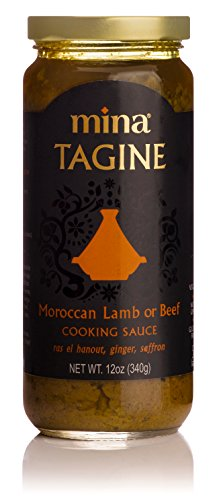 Mina Tagine Moroccan Lamb or Beef Simmer Sauce, 12 Ounce