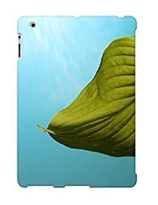 Crazylove Case Cover Green Leaf And Sunny Day / Fashionable Case For Ipad 2/3/4