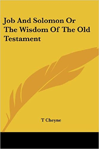 Le premier livre audio en 90 jours Job and Solomon or the Wisdom of the Old Testament iBook