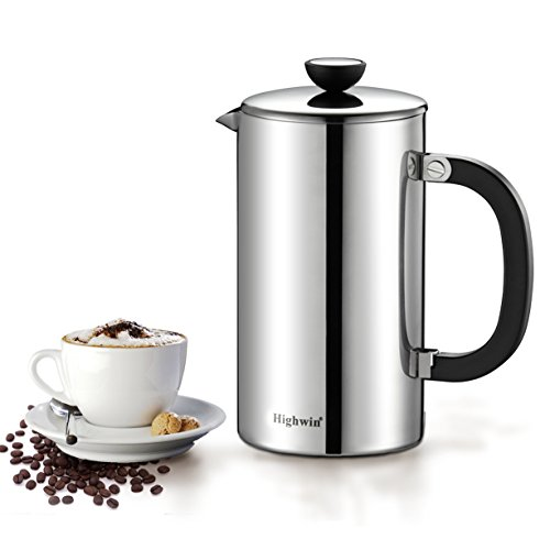 double wall steel french press - 9