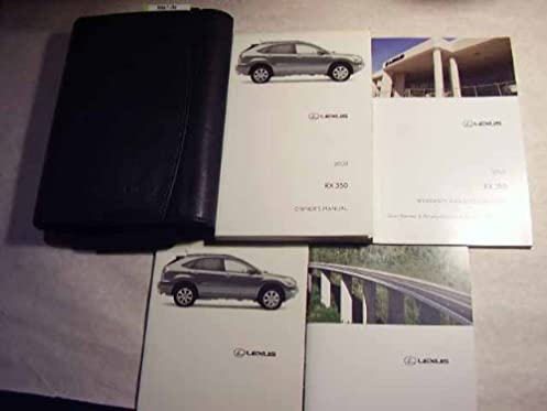 2009 lexus rx 350 owners manual lexus amazon com books rh amazon com 2009 lexus rx 350 owners manual pdf 2009 lexus es 350 repair manual