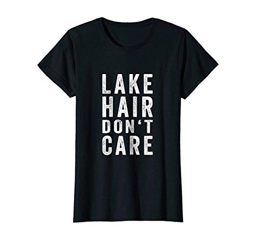 Womens Lake Hair Don't Care Shirt | Lake Girl Shirt | Lake Life - Quiet Life Hat