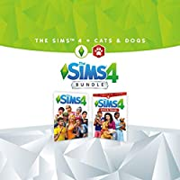 The Sims 4 Plus Cats & Dogs Bundle - PS4 [Digital Code]
