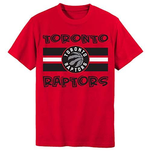 Outerstuff Toronto Raptors Red Home Infants Toddlers Stripe Logo Mark T Shirt (Toddler 2T)