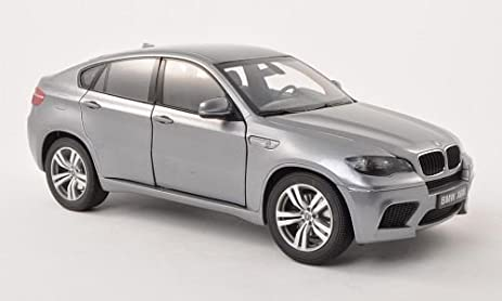 Amazon Com Bmw X6m E71 Met Grey Model Car Ready Made