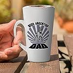 Ceramic Custom Latte Coffee Mug Cup Dad Dogo Argentino Dog Tea Cup 17 Oz Design Only 13