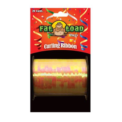 CURLING RIBBON IRIDESCENT YELLOW 20YDS #34288, CASE OF 144 by DollarItemDirect