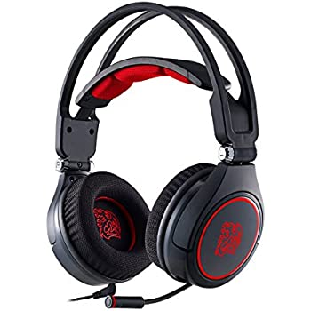 Tt eSPORTS CRONOS AD Comfortable Headband Full Retractable Microphone Bass Gaming Headset (HT-CRA-ANECBK-14)