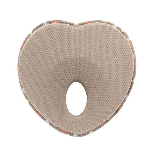 Baby Pillow for Newborn Infant(0-12months),Flat Head Prevention 3D Memory Foam Can Support Head & Neck Pillow,Head…