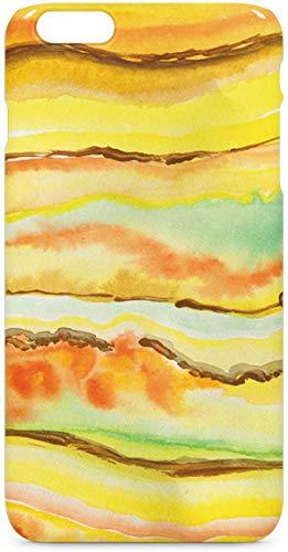 Skinit Geode iPhone 6/6s Plus Lite Case - Tuscan Sun Watercolor Geode Design - Ultra-Thin, Lightweight Phone (Tuscan Six Light)