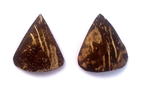 Sarod Jawa, 2 Sarod Jawa, Javva, Sarod Plectrum, Sarod, Hand Crafted, By Coconut Shell by Nadsadhna