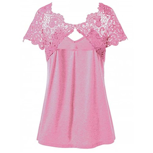 Donna Rosa Shirt165 Bekleidung SANFASHION Multicolore Multicolore SANFASHION XL Ballerine Damen qXOwRfxwU