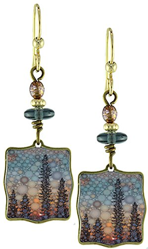 Earth Dream-Aurora Borealis Earrings