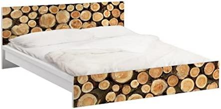 Apalis Vinilo Adhesivo para Muebles IKEA - Malm Bed Low 140x200cm ...