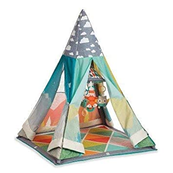 new concept 04ac8 45848 Infantino Go GaGa Infant to Toddler Play Gym & Fun Teepee Multicolored