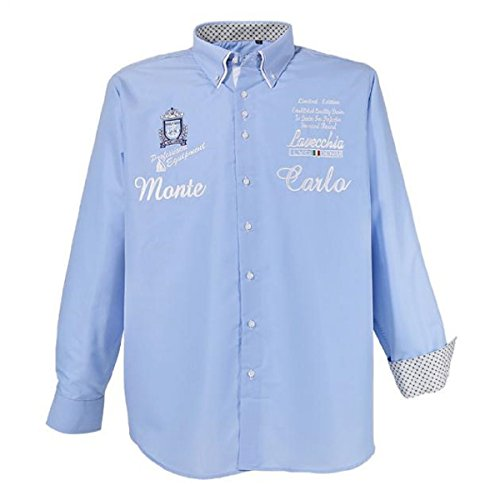 Lavecchia -  Camicia classiche  - Uomo blu chiaro