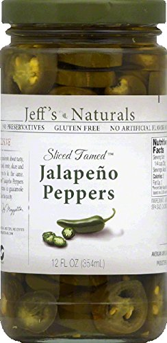 (Sliced Tamed Jalapeno Peppers 12 Ounces (Case of 6))