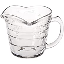 Dozenegg Triple Pour Measuring Cup Glass 16 ounce