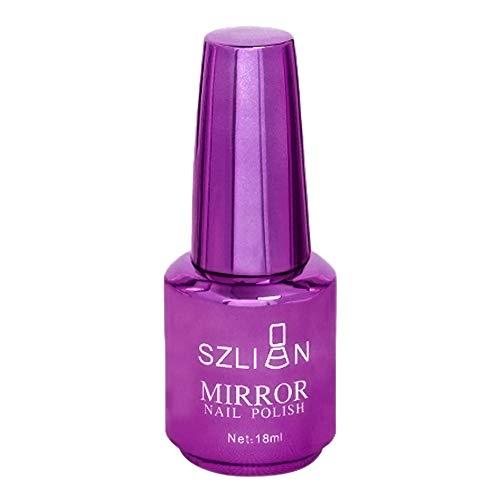 CCatyam Nail Polish, Gel Art Ink Mirror Metal UV LED Light Fast Dry Manicure Liquid Fashion