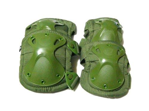XTAK type SWAT Hijihiza protector elbow pad kneepad OD green elbow pads knee pads (japan import)