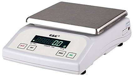 g & G kf15ka|b, 15kg de 1G |0,1g numérique Balance de Paquet Table Balance Balance de précision KF-15KA: Bis 15kg in 1g Schritten G&G GmbH