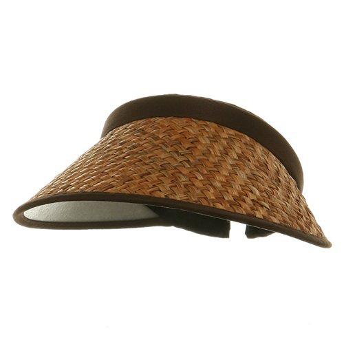 (Large Straw Clip Ons-Brown)