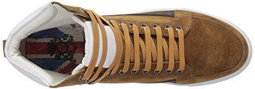 Engelska Tvätt Mens Highfield Sneaker Cognac