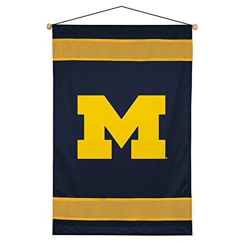 NCAA Michigan Wolverines Sideline Wall (Michigan Wolverines Ncaa Wall)