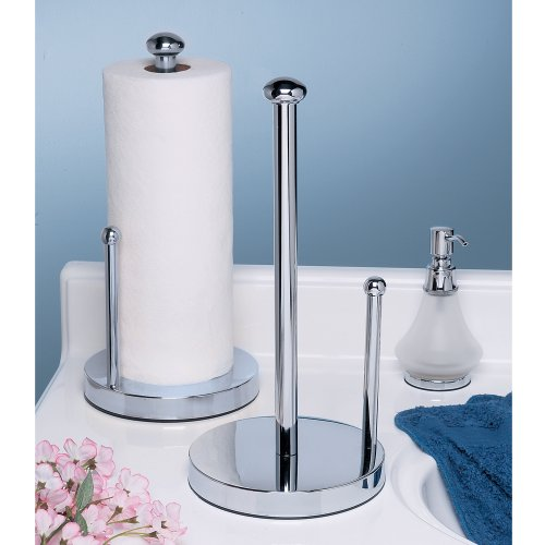 Gatco 1447 Kitchen Paper Towel Stand, Chrome well-wreapped
