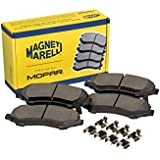 Magneti Marelli by Mopar 2AMV4919AA Brake Pad Set, 2 Pack