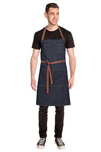 Chef Works Memphis Bib Apron (AB035) by Chef Works (Image #2)
