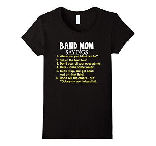 Womens Band Mom T shirt Medium (Medium T-shirt Band)