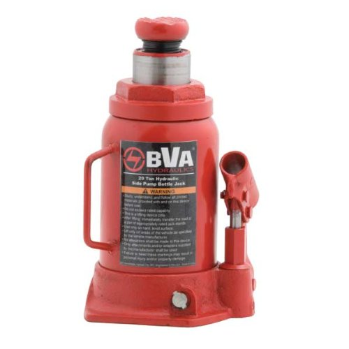 BVA Hydraulics J10205 20 Ton Manual Bottle Jack