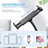 Aluminium Gooseneck Tablet Stand & Cell Phone