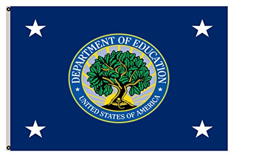 Fyon Department Of Education Banner The Secretary Of Education Flag 3X5ft