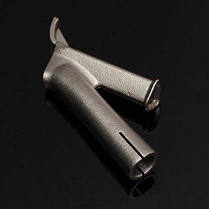 OKIl - Boquilla de Soldadura Triangular de 8 mm para Leister Plastic
