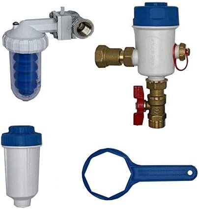Kit Total Boiler salva caldera con filtro desempañador magnético + dosificador proporcional polifosfato + neutral filtro neutralizador.