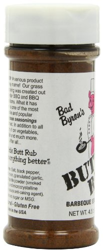 Bad Byron's Butt Rub Barbecue Seasoning, 4.5 Ounce