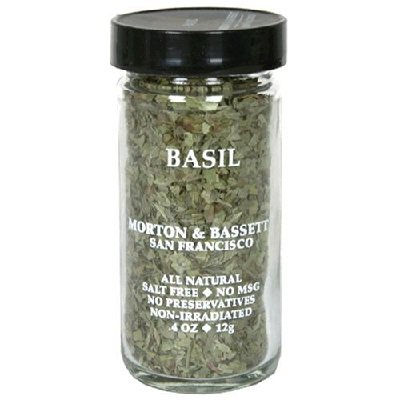 Morton And Bassett Basil Seasoning, 0.5 Ounce - 3 per case.